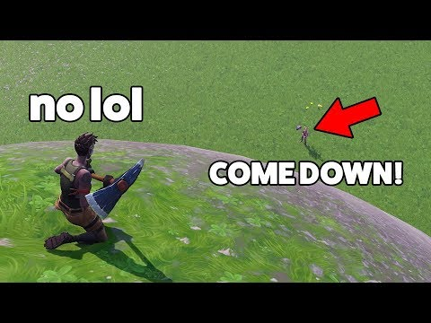 HE GETS 10,000 VBUCKS IF HE KILLS ME! (Fortnite)