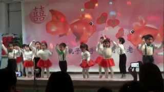 2012喬治亞幼兒園聖誕復古派對-Piggy Class表演