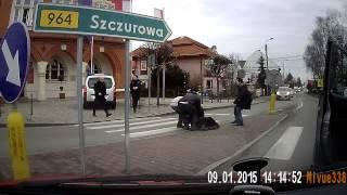 Straż miejska w Niepołomicach - błyskawiczna reakcja