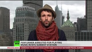 NYPD arrests musician after confirming he did nothing illegal