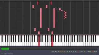 Oh! Dungeon | Undertale PC | Synthesia Piano Tutorial Midi Cover @ 100% Speed