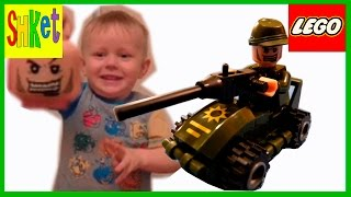 Военная машина Пулемет Танк  Лего Распаковка Тест / Military Machine Tank Lego Unpacking the Test(В этом видео Максим с мамой распаковывают и собирают Лего Военную машину с пулеметом. Игрушка оказалась..., 2016-05-22T07:00:28.000Z)