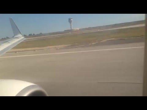 Aterrizaje en el Aeropuerto de Barcelona-El Prat | Ryanair Boeing 737-800