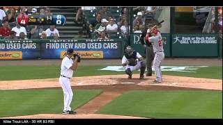 Mike Trout 2012 Home Runs