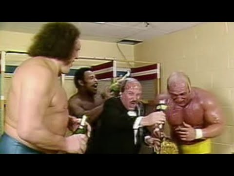 """Mean"" Gene Okerlund interviews Hulk Hogan: January 23, 1984"