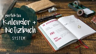Mein perfektes Kalender - System | X17 | Travellers Notebook | Plan with me