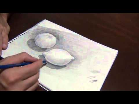 pencil-drawing-of-fruit