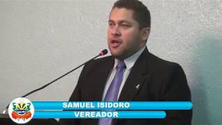 Samuel Isidoro pronunciamento 01 12 2017