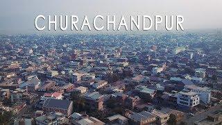 Churachandpur View From Lamka Town | The Second Town In Manipur