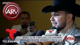 Chica que demandó a Roberto Tapia habla por primera vez | Al Rojo Vivo | Telemundo