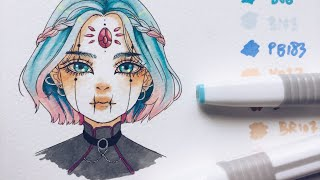 ♡ testing cheap markers - colorona markers!! ♡