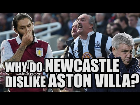 Why Do Newcastle Dislike Aston Villa?  | NEWCASTLE FAN VIEW #1