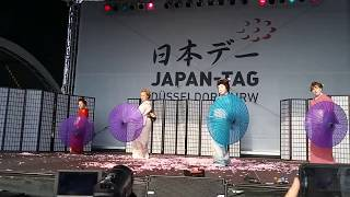 Japan Tag 2018 Düsseldorf  -  Japanese dance