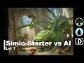 [Lvl 1] Magic Duels | Simic Starter vs AI