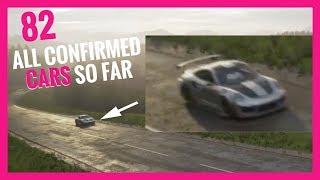 Forza Horizon 4  All 82 Confirmed Cars So Far   Porsche 918, McLaren P1, Porsche 911 GT2 RS & More