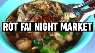 10 Things To Eat At Rot Fai Night Market in Bangkok