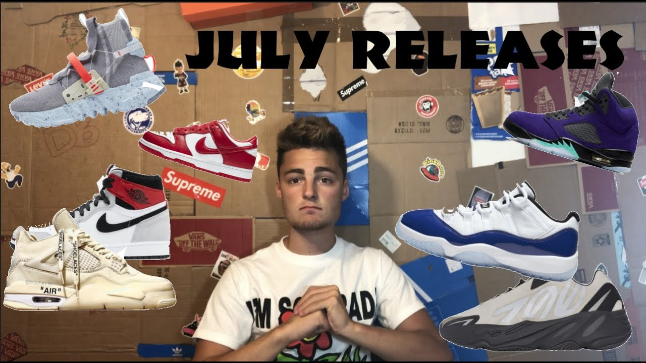 JULY PROFITABLE SNEAKER RELEASES