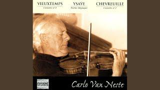 Poème élégiaque for Violin and Orchestra, Op. 12