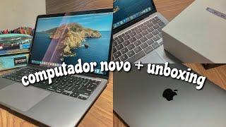 comprei um MacBook Air 2020 + unboxing