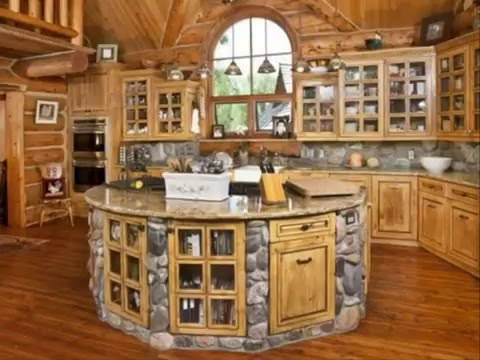 Log cabin interior design ideas best decoration plan for for Interior designs for small cabins