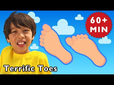 Terrific Toes and More | Nursery Rhymes from Mother Goose Club!