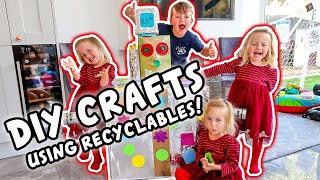DIY Crafts using Recyclables | TOP TIP TUESDAY