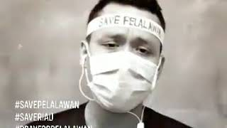 Viral Warga Pelalawan Riau Curhat Nyanyikan Lagu Kabut Asap