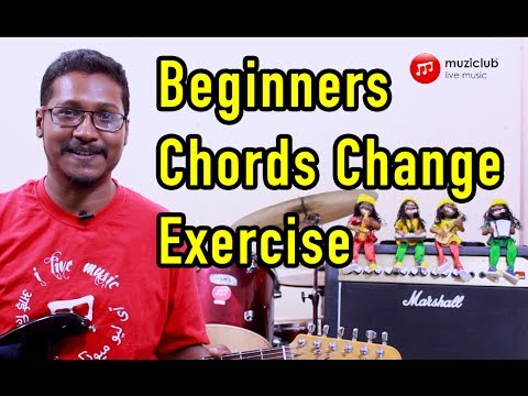 Chord Change Exercise For Beginners Guitar Lesson Change Chords