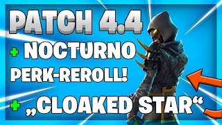 PERK REROLL FOR NOCTURNO / TOTENGRÄBER! FORTNITE PATCH 4 4!
