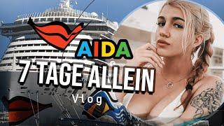 7 Tage ALLEIN IM URLAUB? | AIDA Vlog
