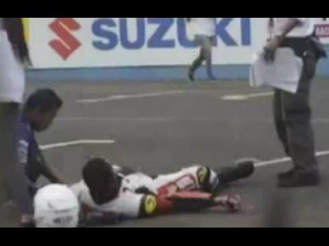 INSIDEN SENTUL M. FADLI Juara, Selebrasi Berujung Tabrakan {} ARRC Sentul 2015 (SS600 Race 2)