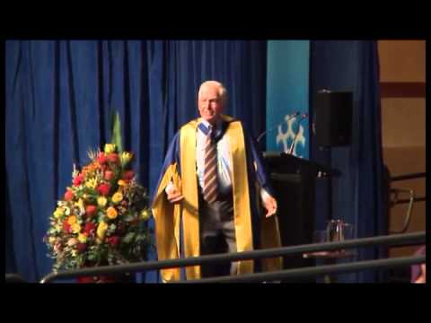 Graduation speech from honorary doctorate Bryce Courtenay