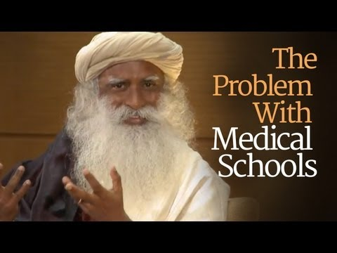 What's the Problem with Medical Schools? - Sadhguru at Duke University with Tracy Gaudet