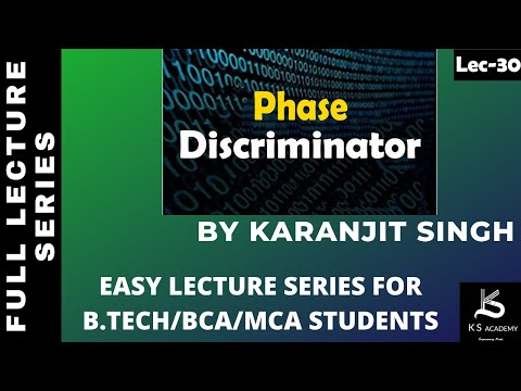 PHASE DISCRIMINATOR||COMMUNICATION SYSTEM|| BTECH||PART29
