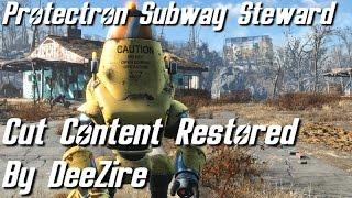 Fallout 4 - Protectron Subway Steward (Cut Content)