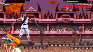 Tk's Random Mugen Battle #1332 - Kirby & Kratos Vs Sailor Venus & Sailor Jupiter