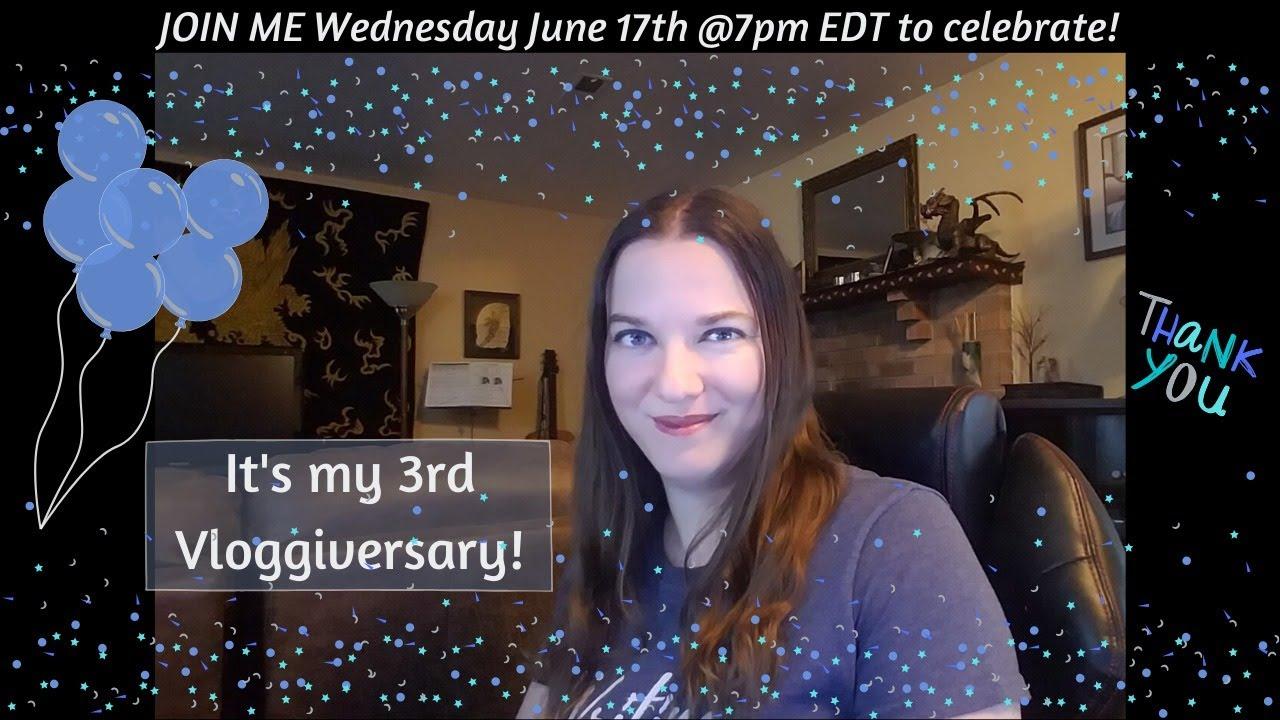 Morgan's 3rd Vloggiversary!