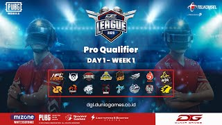 Dunia Games Pro Qualifier - Day 1 #Week1