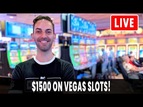 🔴 LIVE $1500 On Vegas Slots 🎰 Slot Queen And King Jason W/ Brian Christopher At Cosmopolitan