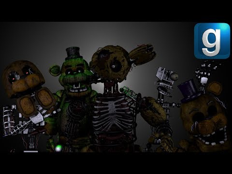 Gmod FNAF | Five Lost Nights At Freddy's [Part 5] thumbnail