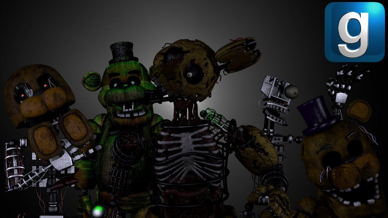 Gmod FNAF | Five Lost Nights At Freddy's [Part 5]