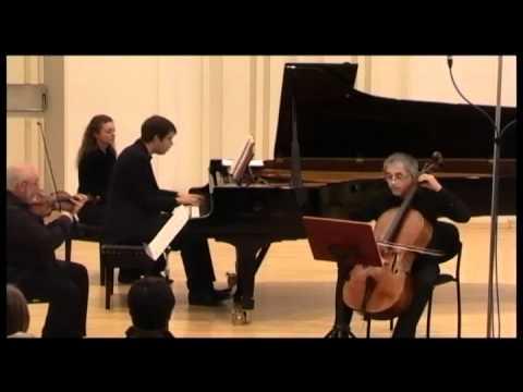J.N Hummel piano trio G dur, 3rd Mov., Martin Levický-piano,Ewald Danel violin,Ján Slávik-cello