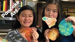 Pancake Art   Adopted Duo