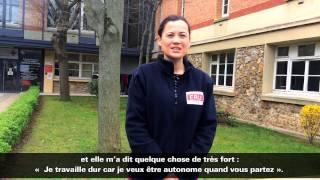Emilie Bancel, volontaire ERU eau et assainissement