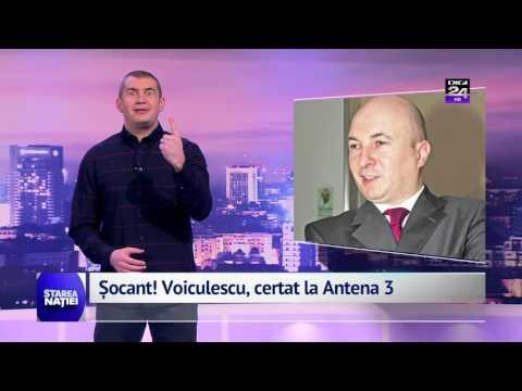 Șocant! Voiculescu, certat la Antena 3