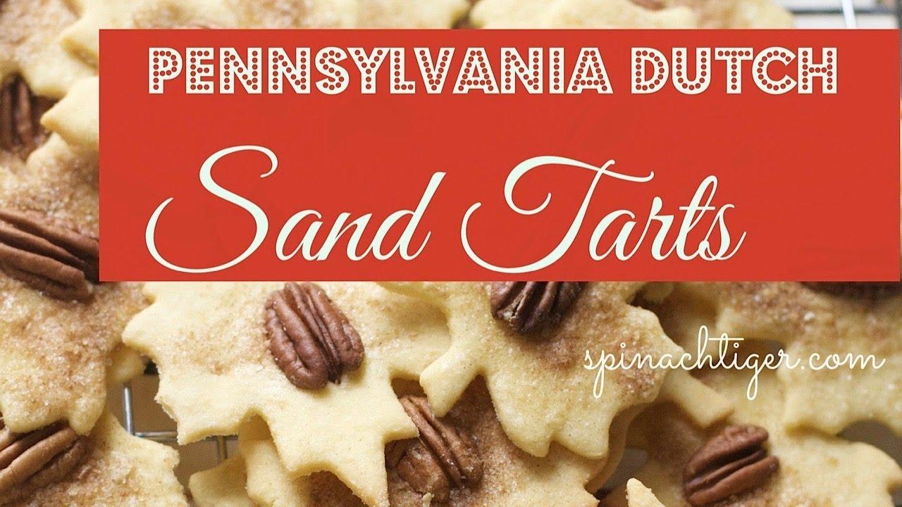 Pennsylvania Dutch Sand Tarts - YouTube