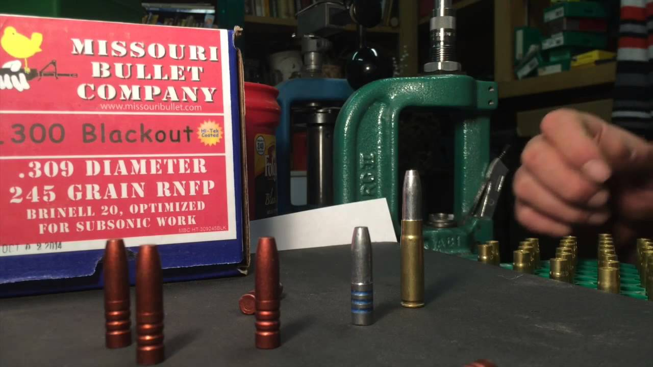 Anyone loading lead bullets in their 300 Blackout? - 2aHawaii