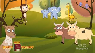 Sunday School Songs | 30mins Non Stop | Animated Children's Bible Songs | Holy Tales