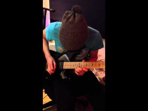 Elliot's Guitar Solo - 'Break Me' (In The Studio: March 2012)
