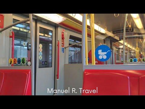 Vienna - U2 - Metro Ride from Rathaus to Donaustadtbrücke, Public Transport ASMR